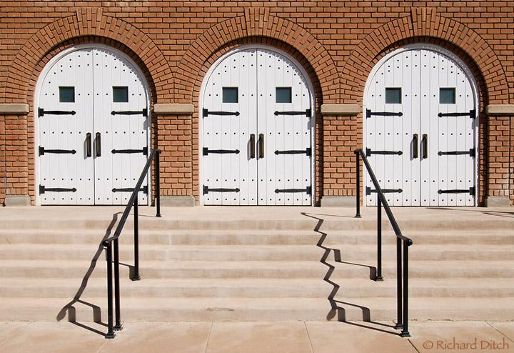 Triple Doors Memorial Hall at Steele Indian School Park