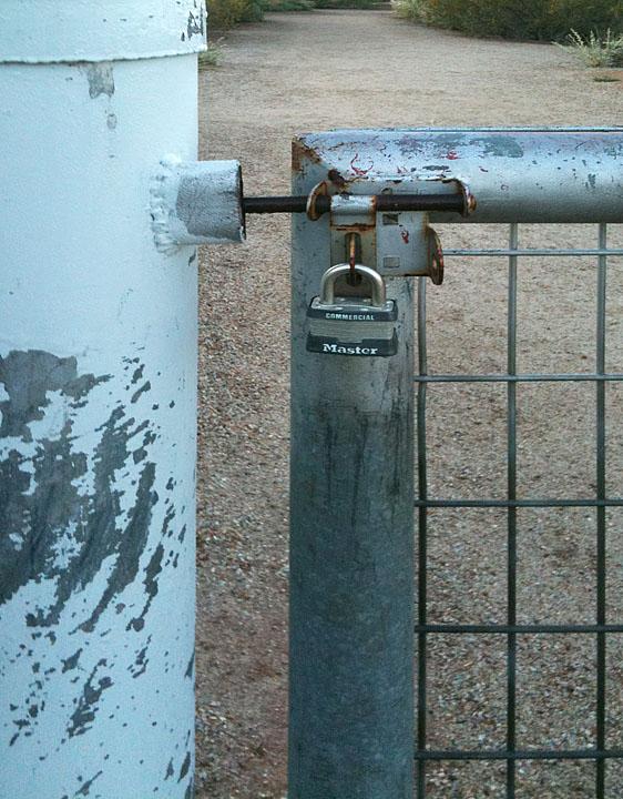 Locked Gate, Again