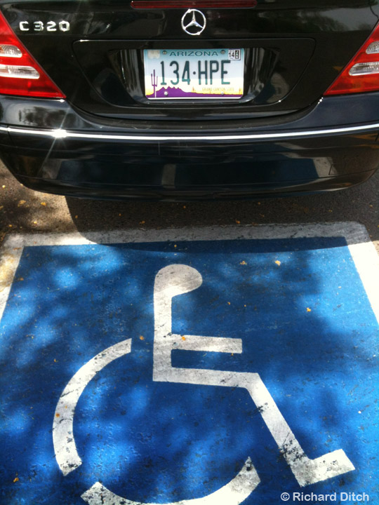 Handicapped Violation
